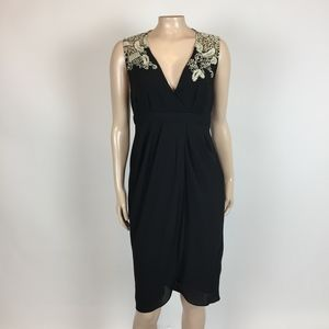 NEW Meadow Rue Embroidered Tulip Dress Small F32